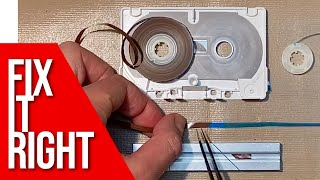 How to Fix Cassette Tapes The Right Way. Open, Splice, Repair Like a Pro.