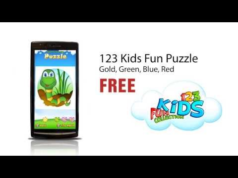 Video of 123 Kids Fun PUZZLE GREEN Free