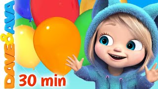 🍰 Happy Birthday Song and More Kids Songs by Dave and Ava 🎈