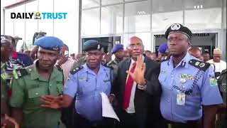 VIDEO: Senator Ovie Omo-Agege arrested
