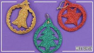 Adorno Navidad Con Goma Eva | Adorno Navideño Foami | Foam Christmas Ornaments