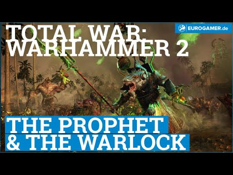 Total War Warhammer 2 - The Prophet & The Warlock Trailer