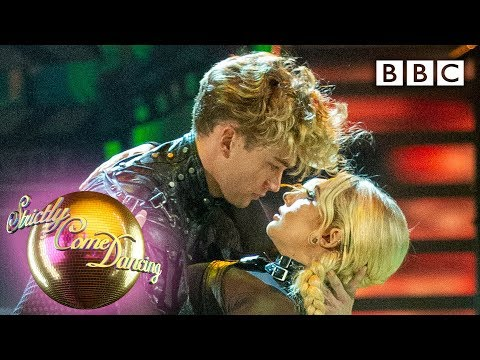 Saffron Barker and AJ Paso to 'Everybody Wants To Rule The World' | Movie Week – BBC Strictly 2019