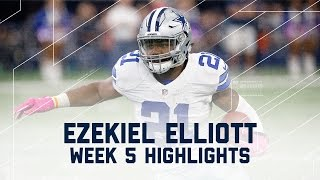 Ezekiel Elliott Eats Up Bengals Defense for 171 Yards & 2 TDs! (Week 5) | Bengals vs. Cowboys | NFL