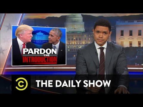 Trump na návštěvě v Bílém domě