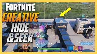 Fortnite Creative Hide and Seek map by Madela! | Swiftor