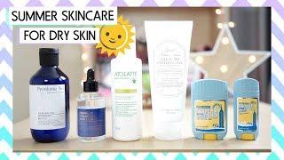 SUMMER Skincare for DRY SKIN! │Korean Summer Skincare Routine