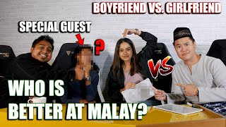 Boyfriend vs. Girlfriend (Malay Proficiency Test) | TM Couple Challenge