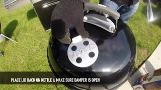 How To Use Your New Weber Kettle Grill | Weber Grills
