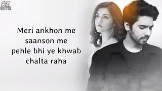 Zara Thehro Song ( Lyrics ) Armaan Malik - Tulsi   - YouTube