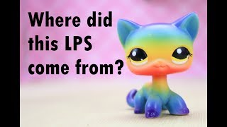 ANOTHER RAINBOW CAT! FAKE LPS