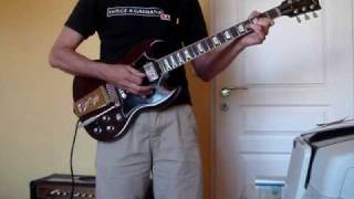 ACDC Love at first feel (with solo) cover