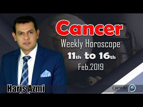 Cancer Weekly Horoscope from Monday 11th to Saturday 16th