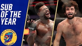 Aljamain Sterling, Zabit Magomedsharipov share submission of the year | Ariel Helwani's MMA Show