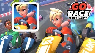 GO RACE SUPER KARTS - Gameplay Walkthrough Part 1 - Android Samsung Galaxy S8 Gameplay