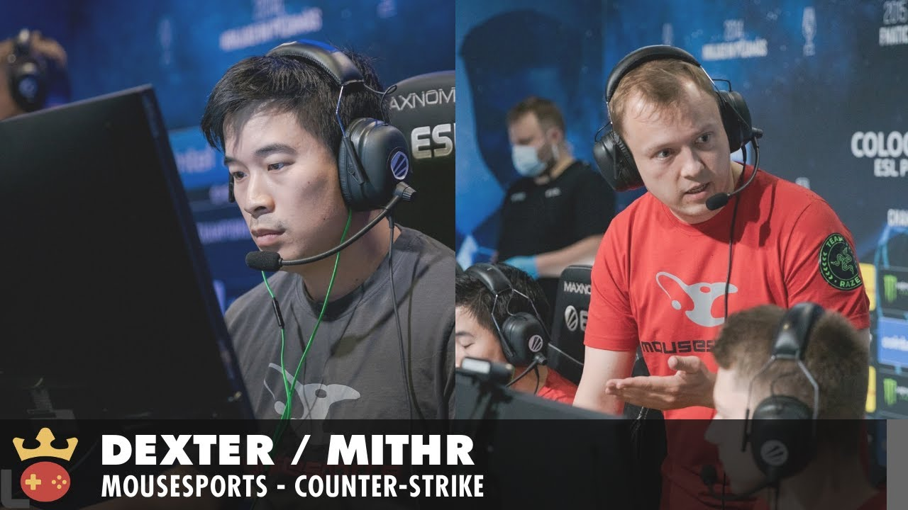 Video of Interview with frozen, dexter, and mithR from mousesports at ESL Pro League Season 14