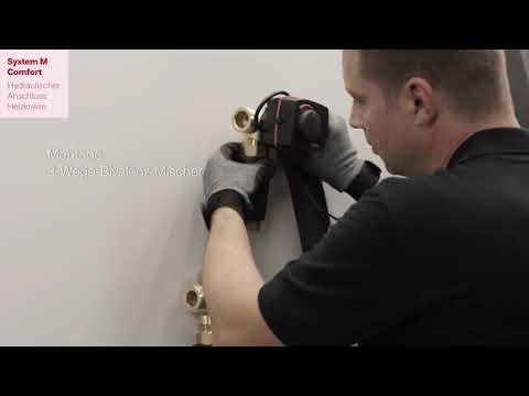 Dimplex – instrukcja montażu System M Comfort - zdjęcie