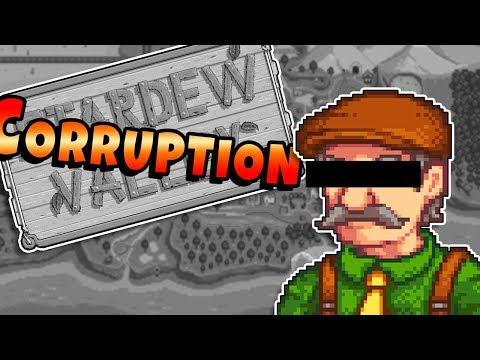 Chasing Corruption In Stardew Valley