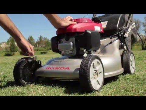 Instructivo de uso cortadora Honda HRR216
