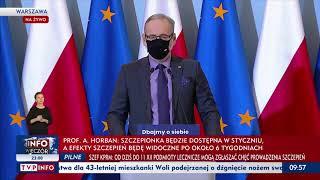 Narodowy Program Szczepień na Covid. Pytania i odpowiedzi z konferencji prasowej MZ z 4.12.2020