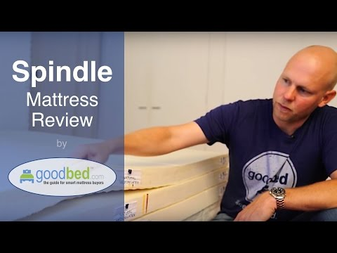 Spindle Natural Latex Mattress Review by GoodBed.com