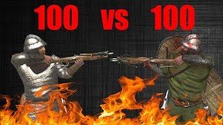 Swadian Sharpshooter VS Rhodok Sharpshooters