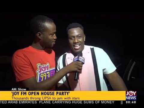Joy FM Open House Party - AM Showbiz on JoyNews (9-4-18)