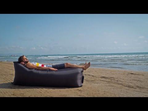Laybag - tumbona hinchable de aire