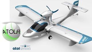 ATOL, Atol amphibious LSA Seaplane, from ATOL AVION, makes maiden flight.
