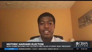 Noah Harris Elected As First Black Student Body President At Harvard University