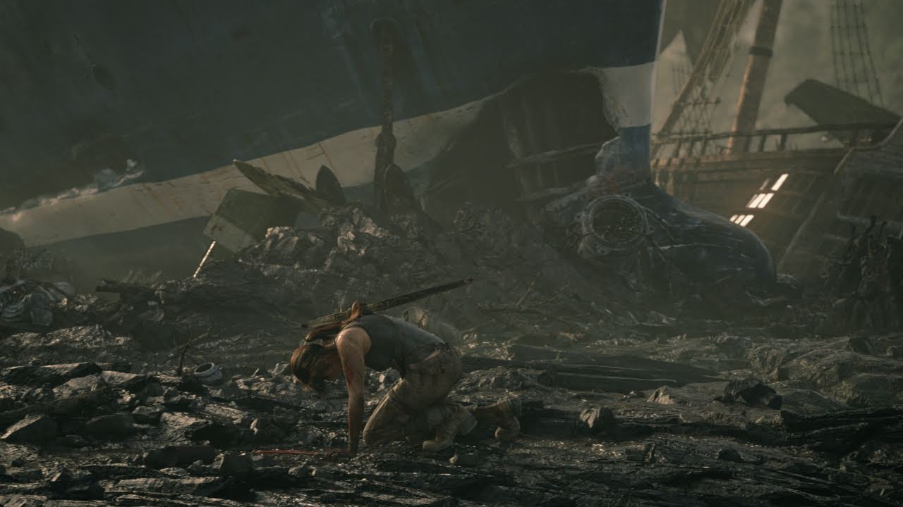Lara Croft's Journey Began Here, As A Broken Mess