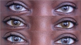 CHEAP & AFFORADABLE CONTACTS FOR DARK BROWN EYES | TTDEYE TRY ON