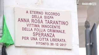 Bitonto commemora Anna Rosa Tarantino