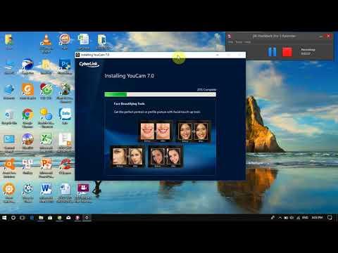 Hướng dẫn cài đặt phần mềm CyberLink YouCam 7 full crack