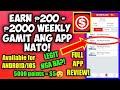 Money App | KUMITA NG ₱200 - ₱2500 FREE PAYPAL MONEY SA APP NATO! Full App Review.