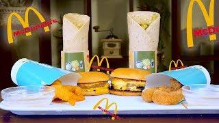 ПОВТОРЯЮ МЕНЮ McDonald's / ДАБЛ ЧИЗБУРГЕР, КРЕВЕТКИ , РОЛЛ С КРЕВЕТКАМИ /