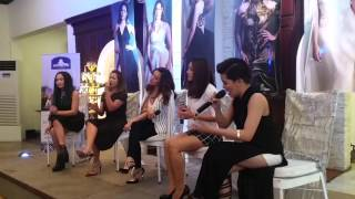 Angeline, Kyla, KZ, Rachelle and Yeng sing