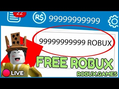 ROBLOX FREE ROBUX LIVE GIVEAWAY - FREE ROBUX & PROMO CODES LIVE 2019