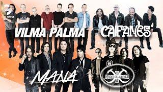 Maná, Caifanes, Héroes Del Silencio , Vilma Palma MIX EXITOS - Clasicos Del Rock En Español