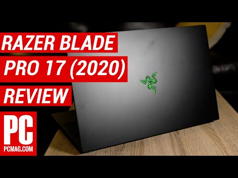 External Review Video RNDDtvZB25A for Razer Blade Pro 17 Gaming Laptop (Early 2020)