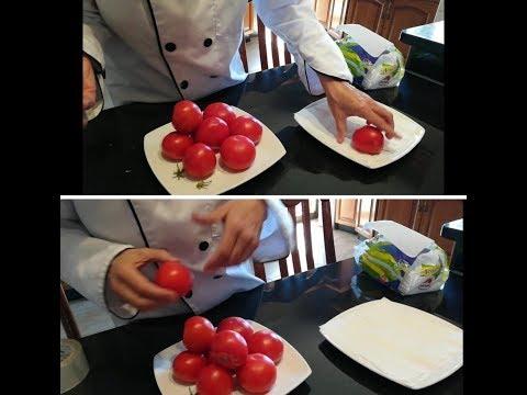 طريقة لا تخطر على البال لحفظ البندورة طازجة خارج الثلاجة .