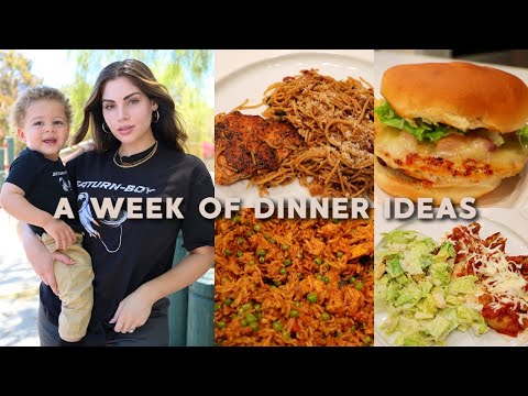 A WEEK OF FAMILY DINNER♡ Easy & Yummy Meal Ideas & Recipes!