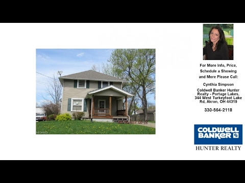 1475 Multnoma Ave, Akron, OH Presented by Cynthia Simpson.