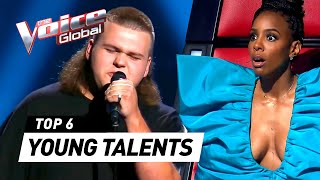 INCREDIBLE YOUNG TALENTS in The Voice