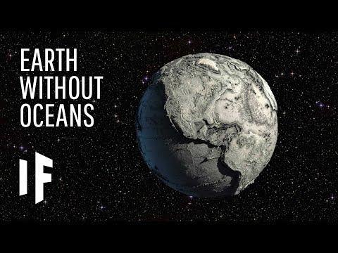 Co kdybychom vysušili všechny světové oceány?