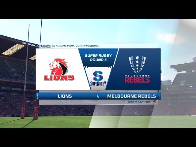 Vodacom Super Rugby | Highlights | Lions vs Rebels