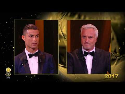 Tổng hợp 5 lần giành quả bóng vàng của Ronaldo