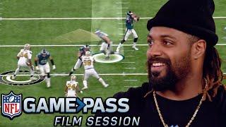 Cam Jordan Breaks Down Pass Rush Moves, Stunts & More | NFL Film Session