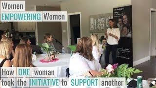 Women Supporting Women – Thank you Aimee Lee!