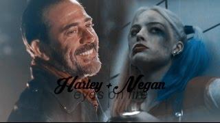 harley + negan - eyes on fire